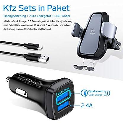 VANMASS-Wireless-Charger-Auto-Handyhalterung-Lftung-Kit-mit-Autoladegert-30-Automatische-Smartphone-Halterung-10W75W-Qi-Ladestation-Elektronisch-Handyhalter-fr-Auto-iPhone-XSX-Galaxy-S10S10