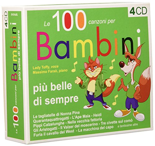 100 Canzoni Piu' Belle per i Bambini (4 CD)
