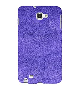 PrintVisa Blue Design 3D Hard Polycarbonate Designer Back Case Cover for Samsung Galaxy Note 1
