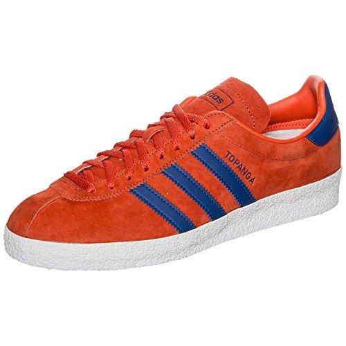adidas Topanga Hommes Baskets Orange/bleu