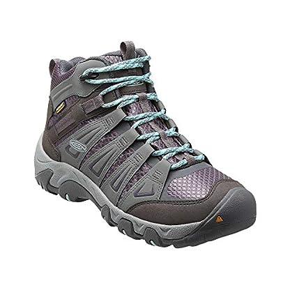KEEN Women's Oakridge Mid Wp High Rise Hiking Boots 1