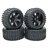 Best Truck Tires - RC 1/10 Truck Off-Road Car Rubber Tires Wheel Review