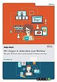 99+ Fragen & Antworten zum Webinar: Wie gute Webinare durch professionelle E-Trainer entstehen