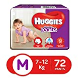 Huggies Wonder Pants Diapers, Medium (Pack of 72)