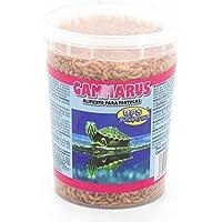BPS® Alimento Comida Gammarus para Tortugas Turtle Terrapin Food 5 Diferentes Modelos para Elegir (Gammarus Alimento 120g 1200ml) BPS-04060