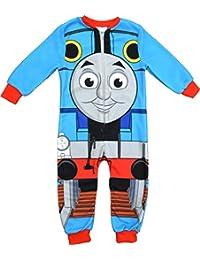 Boys Thomas y sus amigos Thomas Tank Engine forro polar Mono tamaños 18meses a 5años