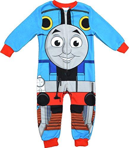 Ragazzi thomas e amici trenino thomas motore in pile pigiama dimensioni 18mesi a 5anni blue 3-4 anni
