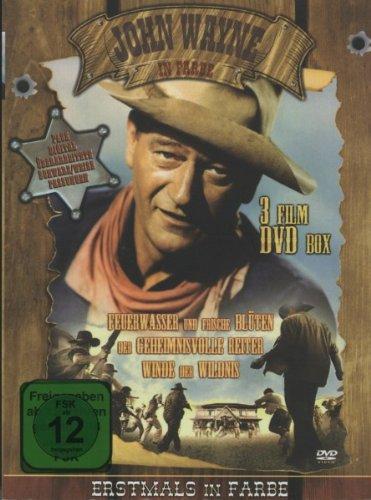 John Wayne In Farbe (3 Film DVD Holzbox) [Edizione: Germania]