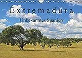 Extremadura - Unbekanntes Spanien (Wandkalender 2019 DIN A4 quer): Die Extremadura, das Herkunftslandand der spanischen Konquistadoren, verzaubert Sie ... (Monatskalender, 14 Seiten ) (CALVENDO Orte) - CALVENDO