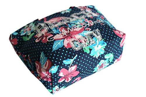 Borsetta mare Gian Marco Venturi l.fiori donna moda mare 43422 navy