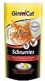 GimCat Schnurries mit Hühnchen Und Taurin, 3er Pack (3 x 40 g)