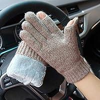 515564be9e7eeb Touchscreen-Handschuhe Herbst- und Winterpaare pur Plus Samt dick  Touchscreen Fingerspitzen um die Wolle