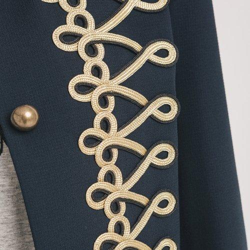 Promod Veste blazer Femme Imprimé marine
