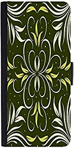 Snoogg Seamless Floral Pattern Abstract Background designer Protective Phone Flip Case Cover For Lg Nexus 5X