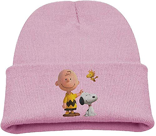 noopy Warm Winter Hat Knit Beanie Skull Cap Cuff Beanie Hat Winter Hats Kids ()