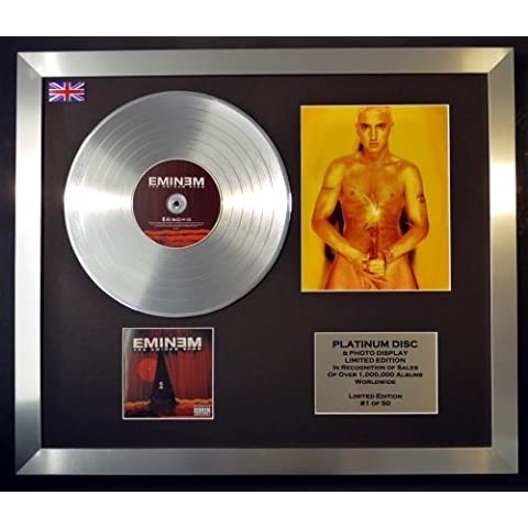 EMINEM/CD platinum disc & Foto Display/Edicion Limitada/THE EMINEM SHOW