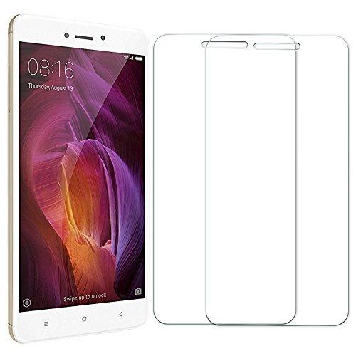 [2 Unidades] Protector de Pantalla Xiaomi Redmi Note 4, Senisttech 9H Dureza Cristal Vidrio Templado Para Xiaomi Redmi Note 4, 0.33mm Ultra Transparencia HD, 3D Touch Compatibles, Instalación Fácil