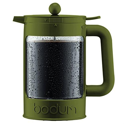 Bodum K11683-947S-Y17 Kaffeebereiter, 12 Tassen, mit Schraubverschluss, Olive 20x12.1x24.1 cm...