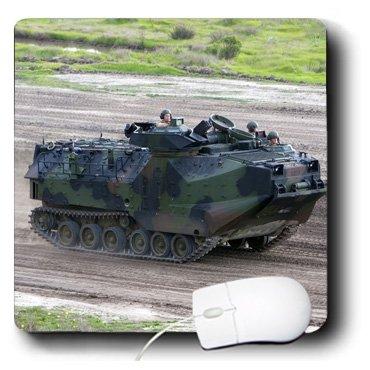 3dRose LLC Mauspad, 8 x 8 x 0,25 Zoll Assault Vehicle Camp Pendleton US Marines David R Frazier (mp_88348_1)