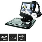D-Jix PVS905-79CBC Lecteur DVD portable Noir