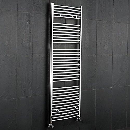 Scaldasalviette cromato Hudson Reed 1800x600 mm