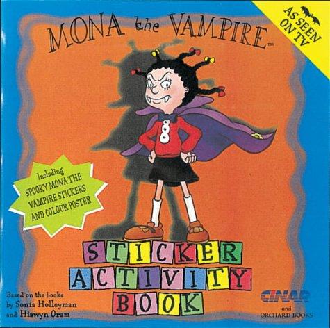 Mona the vampire sticker activity book