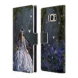 Offizielle Nene Thomas Prinzessin Mariposa Feen Brieftasche Handyhülle aus Leder für Samsung Galaxy S7 edge