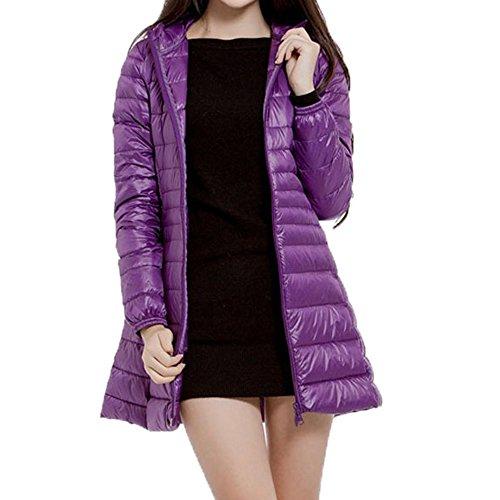 TWIFER Damen Winter Plus Size Mantel Warme Dünne -
