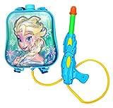 #8: Toyshine Startoys Holi Water Gun with High Pressure, Back Holding Tank, 3.0 L, Disney Frozen, Blue