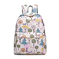 "Segater® Waterproof School Backpack for Girls College Cute Laptop Bag Bookbag Outdoor Travel Daypack Rucksack with USB Charging Port for Women, its Under 15.6"" Laptop"