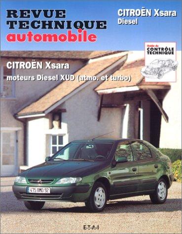 Citroën Xsara: Moteurs Diesel XUD (atmo. et turbo)