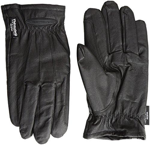 Heritage kaltem Wetter Handschuh, Herren, HG286-07, Schwarz, 7
