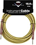 Accessoires guitare FENDER CABLE 5,6 M TWEED CUSTOM SHOP SERIES Cable instrument