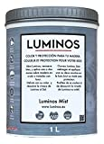 Luminos - LUM1101 - MIST - Holz Lasur Farbe Graue Nebe. 1L