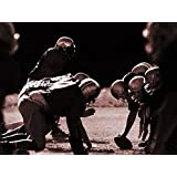 Postereck - 0512 - NFL, Football Angriff, Sepia II - Poster 40.0 cm x 30.0 cm