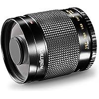 Walimex 500mm 1:8,0 CSC Spiegelobjektiv DSLR für Sigma Bajonett schwarz (manueller Fokus, für Vollformat Sensor gerechnet, Filtergewinde inkl. Skylight- und Graufilter)