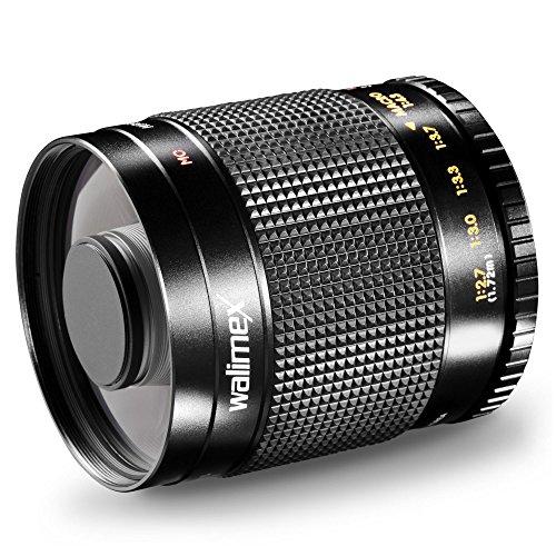 Walimex pro 500/8,0 - Teleobjetivo de espejo para Samsung NX