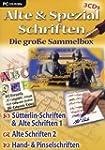 Alte & Spezial Schriften