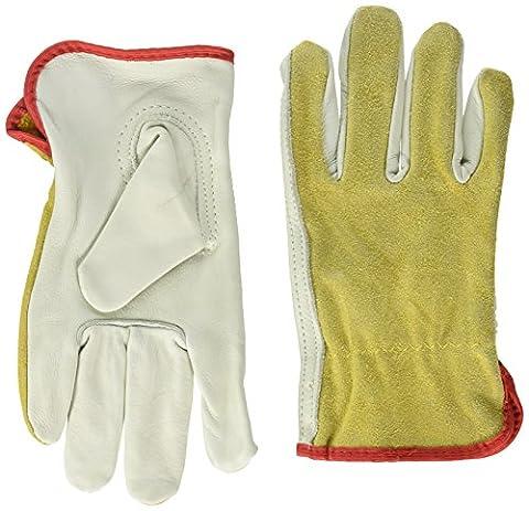 BOSS Handschuhe Getreide Leder Treiber mit Split Rückseite