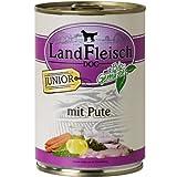 LandFleisch | Junior Pute mit Frisch-Gemüse | 12 x 400 g