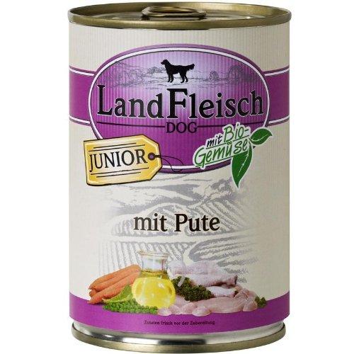 LandFleisch   Junior Pute mit Frisch-Gemüse   12 x 400 g