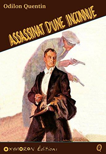Assassinat d'une inconnue (Odilon QUENTIN)
