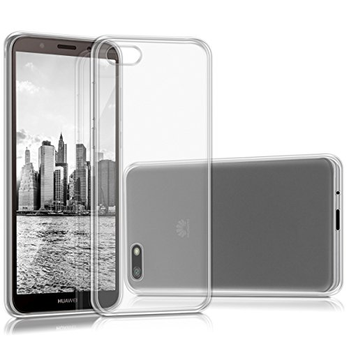 kwmobile Huawei Y5 / Y5 Prime (2018) Hülle - Handyhülle für Huawei Y5 / Y5 Prime (2018) - Handy Case in Transparent