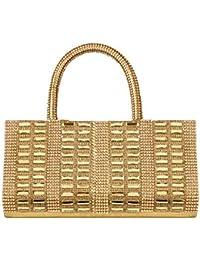 Louise Belgium Designer Handbag For Women / Women's Handbag / Shoulder Bag For Women _ Gold , LB-669