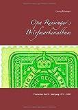 Opa Reisinger´s Briefmarkenalbum: Deutsches Reich - Jahrgang 1874 - 1880