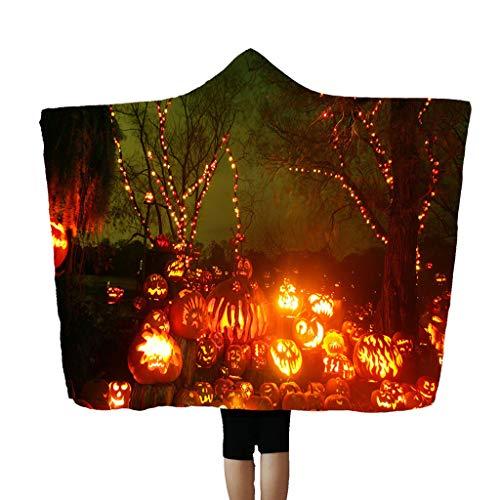 Black Ops Ghost Kostüm - Mitlfuny Halloween coustems Kürbis Hexe Cosplay Gast Ghost Schicke Party Halloween deko,Halloween Kapuzendecke Umhang Kappe Decke Klimaanlage Decke 150x200cm