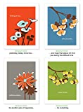 Mixed Botanical Note Cards by PaperInk S...