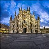 Poster 13 x 13 cm: Duomo di Milano (Mailänder Dom) am