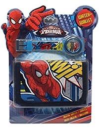 Reloj niño digitale Spiderman Marvel Plus cartera