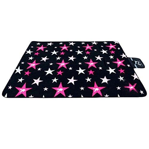 Star Beach Kissen Baby-Gepolsterte Yoga-Matten-Picknick-Decke